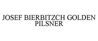 mark for JOSEF BIERBITZCH GOLDEN PILSNER, trademark #78636416
