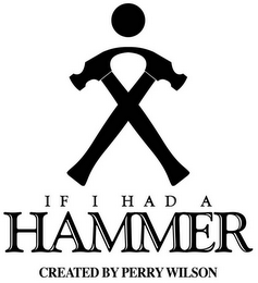 mark for IF I HAD A HAMMER CREATED BY PERRY WILSON, trademark #78637443