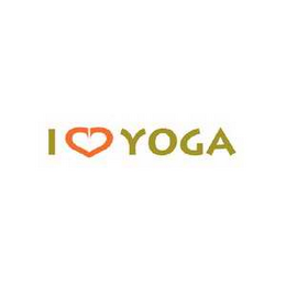 mark for I LOVE YOGA, trademark #78637622