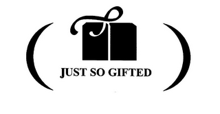 mark for JUST SO GIFTED, trademark #78638060