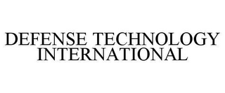 mark for DEFENSE TECHNOLOGY INTERNATIONAL, trademark #78638242