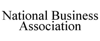 mark for NATIONAL BUSINESS ASSOCIATION, trademark #78638305