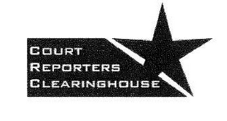 mark for COURT REPORTERS CLEARINGHOUSE, trademark #78638607