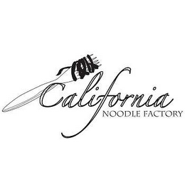 mark for CALIFORNIA NOODLE FACTORY, trademark #78640449