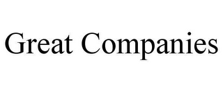 mark for GREAT COMPANIES, trademark #78641014