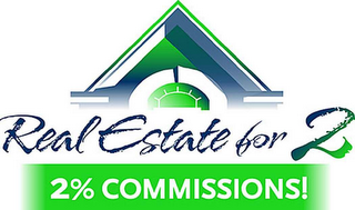 mark for REAL ESTATE FOR 2 2% COMMISSIONS!, trademark #78641894