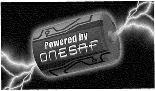 mark for POWERED BY ONESAF, trademark #78642172