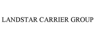 mark for LANDSTAR CARRIER GROUP, trademark #78642952