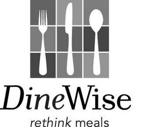 mark for DINEWISE RETHINK MEALS, trademark #78642978