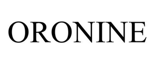 mark for ORONINE, trademark #78643209