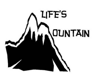 mark for LIFE'S MOUNTAIN, trademark #78643456
