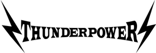 mark for THUNDERPOWER, trademark #78643682