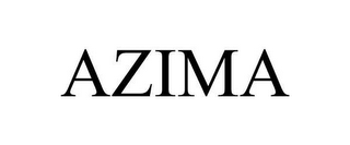 mark for AZIMA, trademark #78643845