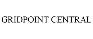 mark for GRIDPOINT CENTRAL, trademark #78644815