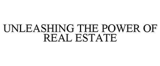 mark for UNLEASHING THE POWER OF REAL ESTATE, trademark #78645403