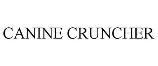 mark for CANINE CRUNCHER, trademark #78645628