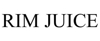 mark for RIM JUICE, trademark #78646676