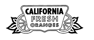 mark for CALIFORNIA FRESH ORANGES, trademark #78647417