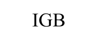 mark for IGB, trademark #78647425