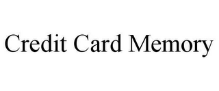 mark for CREDIT CARD MEMORY, trademark #78648083