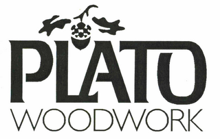 mark for PLATO WOODWORK, trademark #78649574