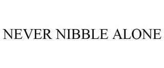 mark for NEVER NIBBLE ALONE, trademark #78650154
