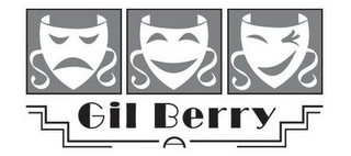 mark for GIL BERRY, trademark #78650349