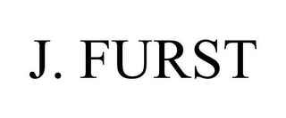 mark for J. FURST, trademark #78652819