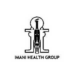 mark for I IMANI HEALTH GROUP, trademark #78653100