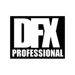 mark for DFX PROFESSIONAL, trademark #78653196