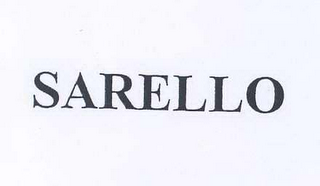 mark for SARELLO, trademark #78653367