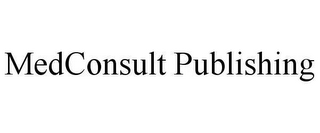 mark for MEDCONSULT PUBLISHING, trademark #78654673