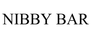 mark for NIBBY BAR, trademark #78656113