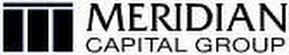 mark for MERIDIAN CAPITAL GROUP, trademark #78657200