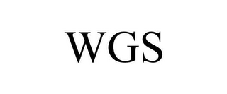 mark for WGS, trademark #78657570