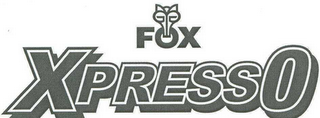 mark for XPRESSO FOX, trademark #78658159