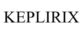 mark for KEPLIRIX, trademark #78658808