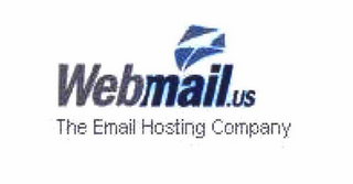 mark for WEBMAIL.US THE EMAIL HOSTING COMPANY, trademark #78659029