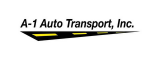 mark for A-1 AUTO TRANSPORT, INC., trademark #78659900