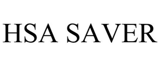 mark for HSA SAVER, trademark #78660038