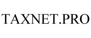 mark for TAXNET.PRO, trademark #78660843