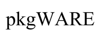 mark for PKGWARE, trademark #78661152