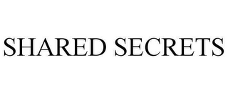 mark for SHARED SECRETS, trademark #78661436