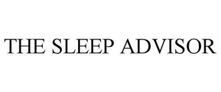 mark for THE SLEEP ADVISOR, trademark #78663455