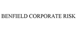 mark for BENFIELD CORPORATE RISK, trademark #78664253