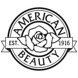 mark for AMERICAN BEAUTY EST. 1916, trademark #78664322