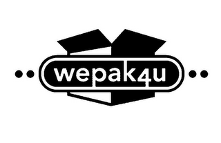 mark for WE PAK 4 U, trademark #78664670