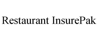mark for RESTAURANT INSUREPAK, trademark #78664802
