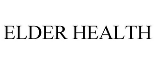mark for ELDER HEALTH, trademark #78664927