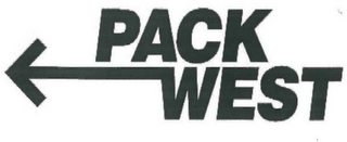 mark for PACK WEST, trademark #78665097